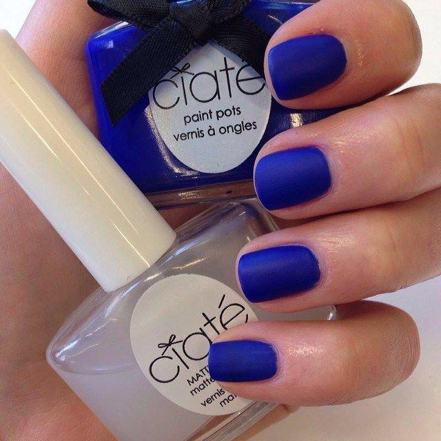 Blue Nail Polish The Block: Blue Nail Polish: New Shades To Try Right Now