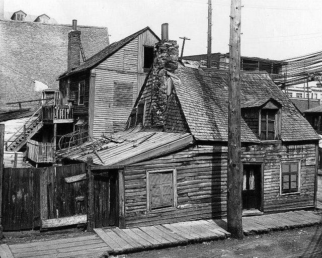 Montréal 1903. Rue Barré, Griffintown.