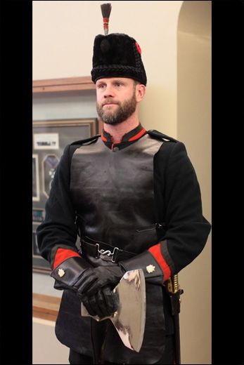 A Pioneer from The Queen's Own Rifles of Canada.
