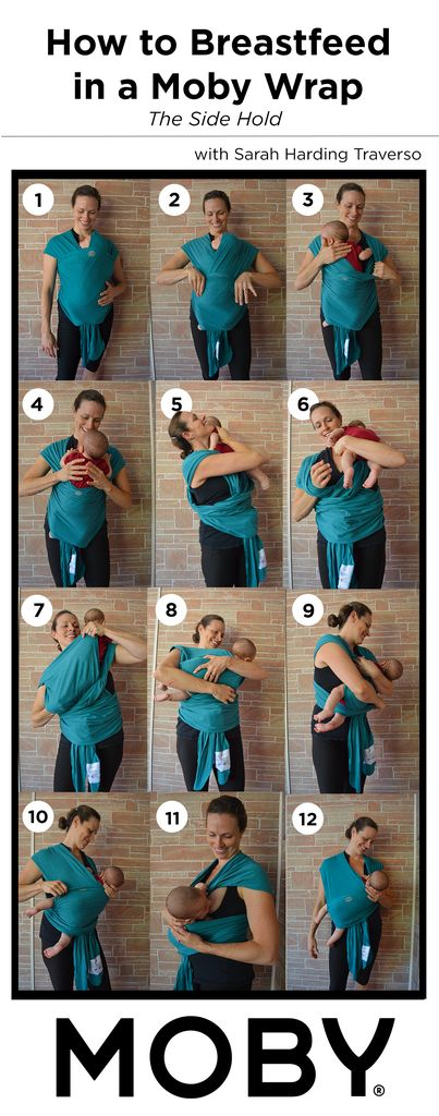 How to Breastfeed in a Moby Wrap – MOBY baby carriers