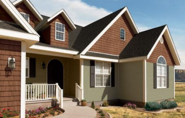 10 best new house images on pinterest exterior homes for Norman rockwell siding