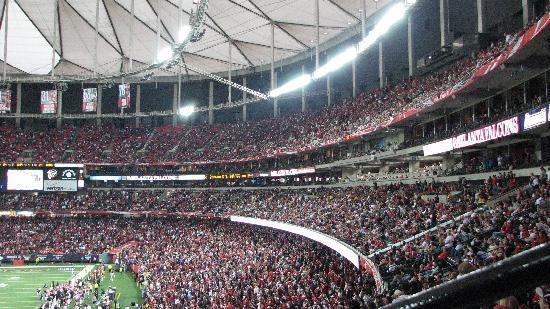Georgia Dome - Atlanta Falcons football team