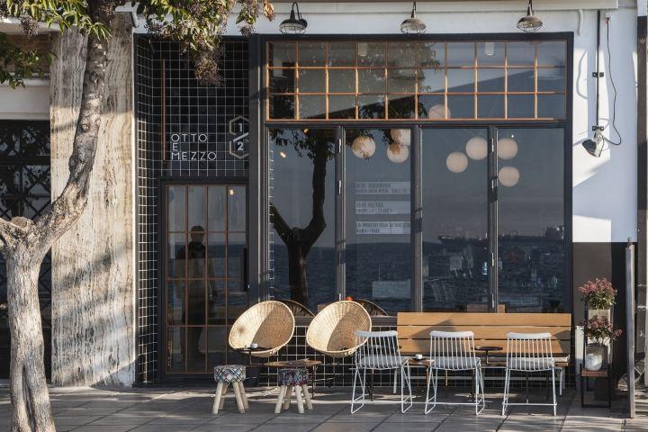 Otto e mezzo bistro bar by Ark4lab, Thessaloniki – Greece » Retail Design Blog