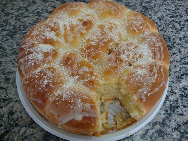 Com massa mole é uma dica deliciosa para a manhã dessa terça-feira. Anote! - Aprenda a preparar essa maravilhosa receita de Pão doce (massa mole)