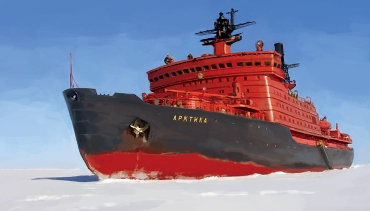 35 best 100% ~ Russian Nuclear Icebreakers images on ...