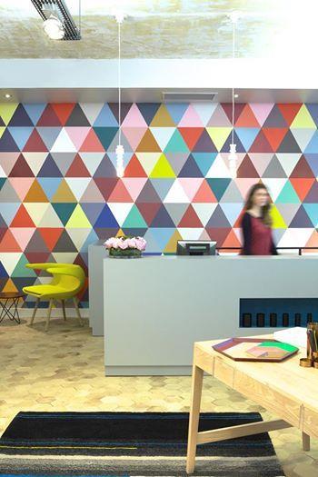 Boutique Maison M - Papier peint Mosaic by Minakani Lab