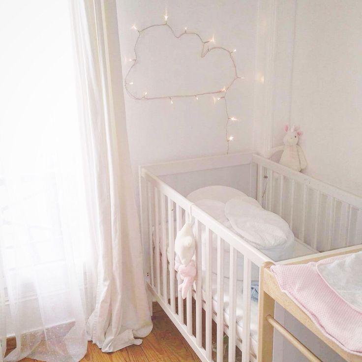Deco chambre bébé nuage en led light cloud