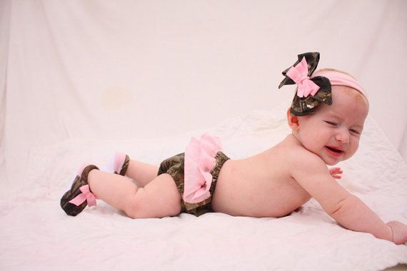 Baby girl camo dress Mossy oak hot pink pillowcase by haddygrace