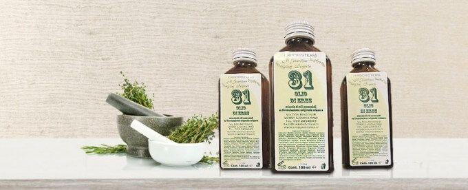 Benefici olio 31: scopriamoli insieme - Benefici olio 31: scopriamoli insieme alla nostra redazione. L'olio 31 viene chiamato in questo modo perché è creato selezionando trentuno erbe, radici e bacche ricche di sostanze in grado di garantire il benessere di tutti.