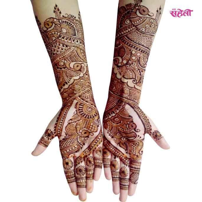 Arabic Mehandi Designs #arabic #mehandi #design #henna #pattern #eid #festival