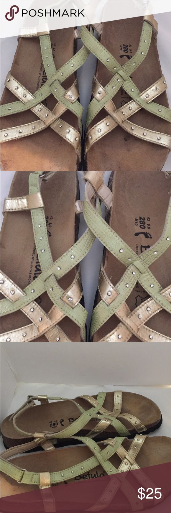 Birkenstock Betula sandals size 10 Betula sandals licensed by Birkenstock. Ladies size 10. In good clean pre owned condition. Birkenstock Shoes Sandals