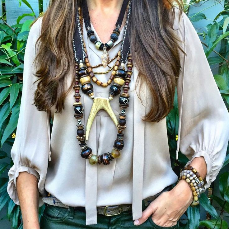 I love Twine and Twig Jewelry so I've posted some pics of their style, they always kill