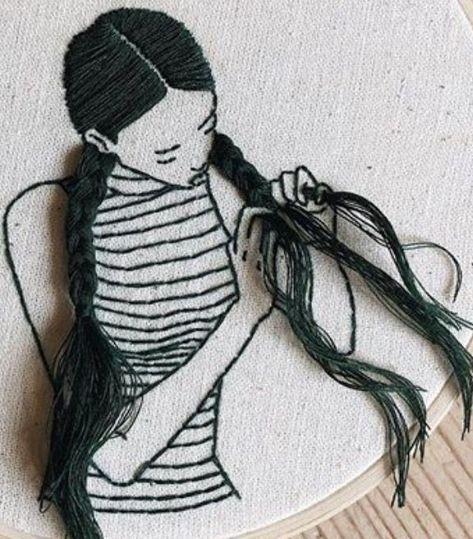 THREADS & YARNS – #threads #YARNS – Anna Krohmer – Handarbeit