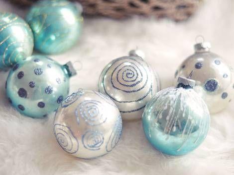 die besten 25 christbaumkugeln ideen auf pinterest glaesere weihnachtskugeln glas. Black Bedroom Furniture Sets. Home Design Ideas