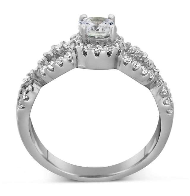 Infinity Wedding Ring Sets 2