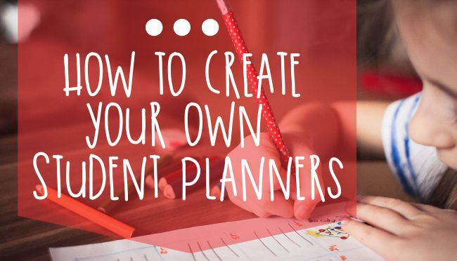Ever wanted to help your students get organized? Give them the tools with these printable student planner pages.
