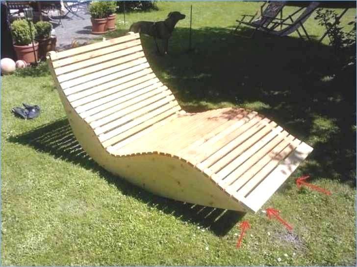 Strandliege Selber Bauen Wellnessliege Holz Bauanleitung
