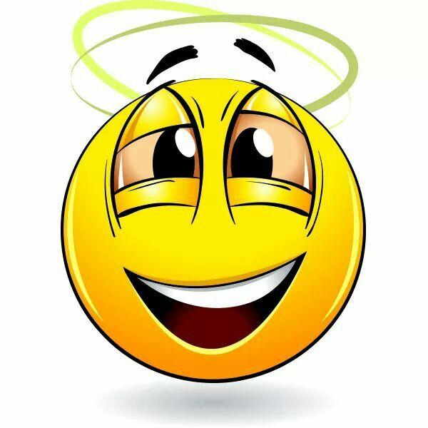 Dizzy smiley face