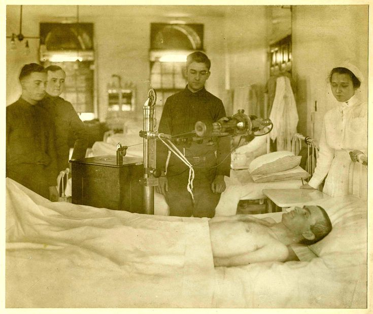 The First Portable XRay Machine