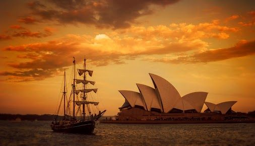 Sunset :: As the Tall Ship Comes In :: Sydney :: Australia   ©GC  #sydney