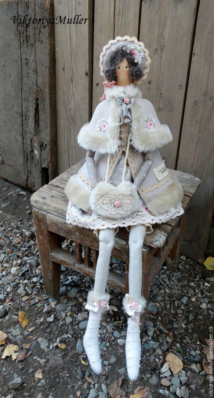 выкройка куклы тильды на коньках