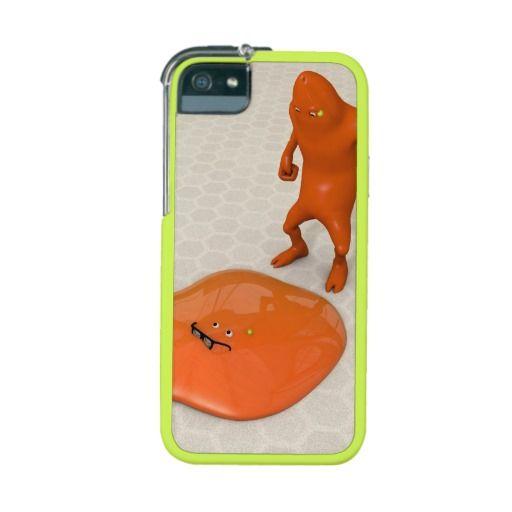 """The Melting Blob Man Graft iPhone 5/5S Case / Cover. melting funny humor humour blob goo gooey """"nerd glasses"""" """"nerd specs"""" """"geek glasses"""" """"nerd spectacles"""""""