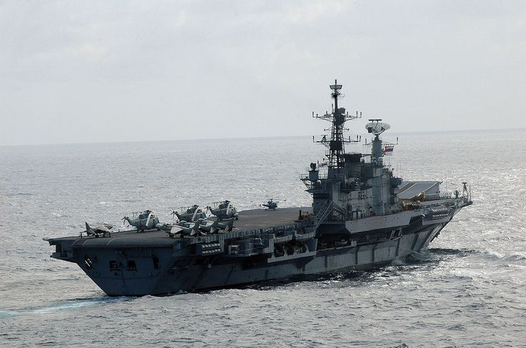 INS Viraat sail Malabar 07.jpg