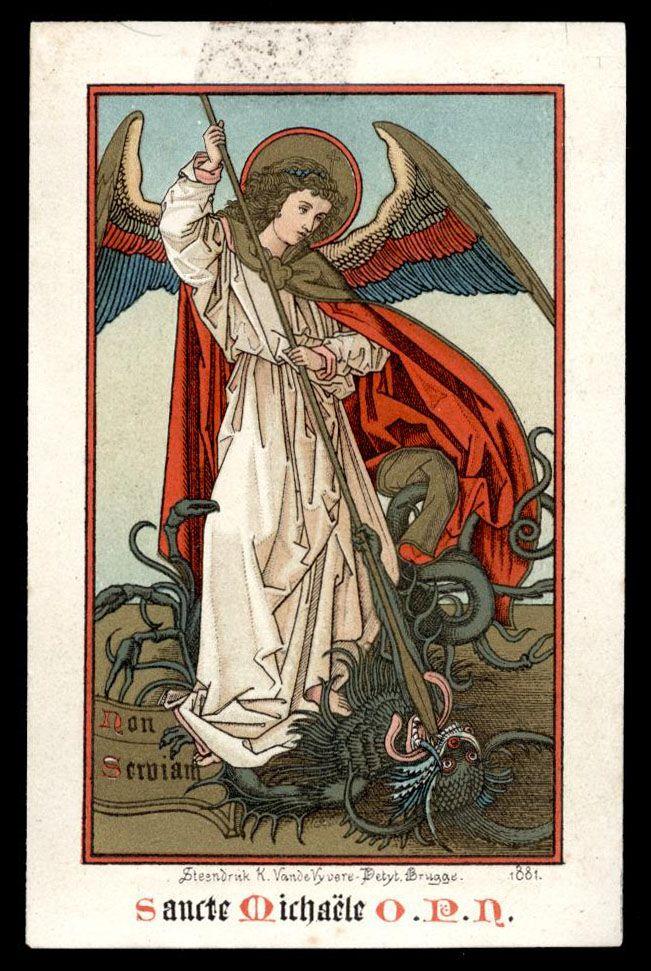 "theraccolta: "" Saint Michael, pray for us. """