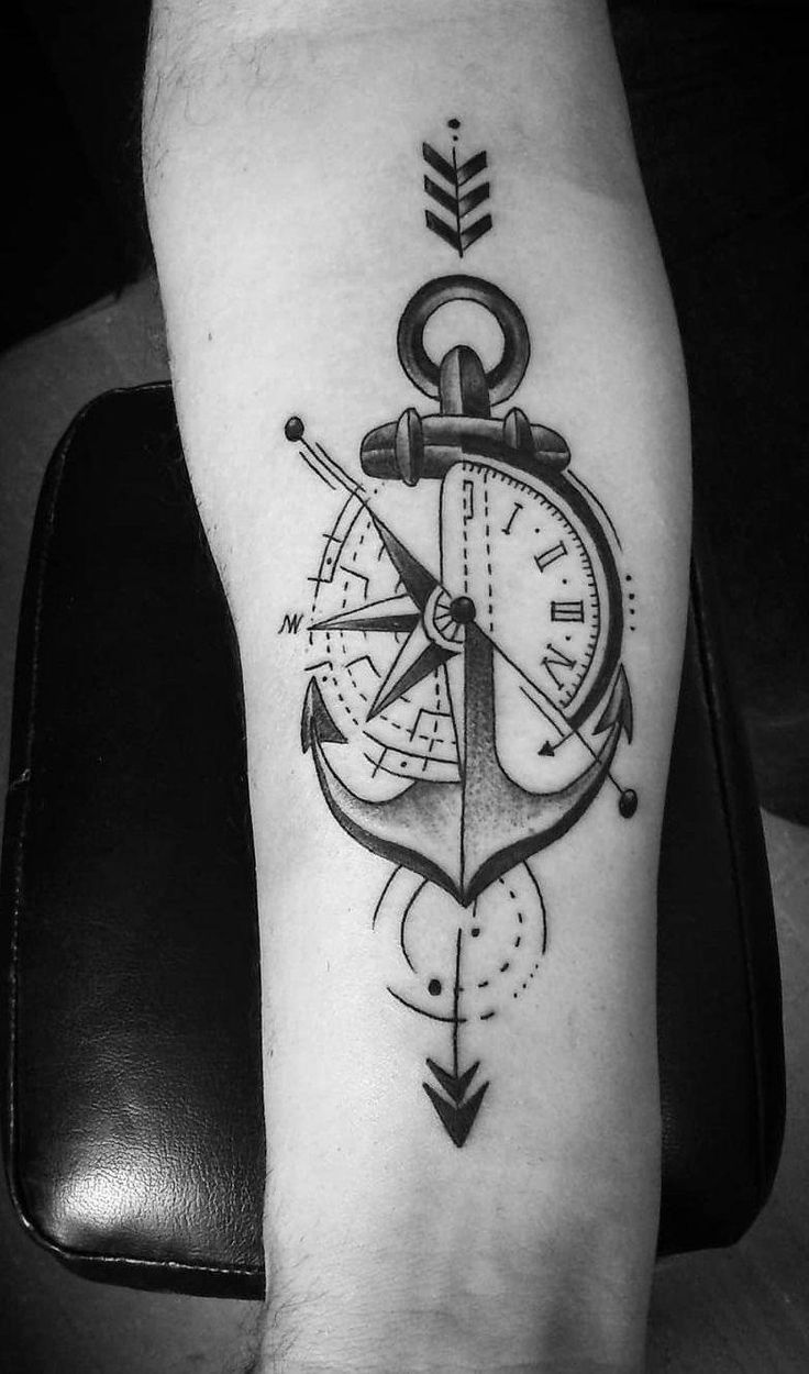 As 60 melhores tatuagens de âncora femininas e masculinas. #Tattoosformen – Benazzi