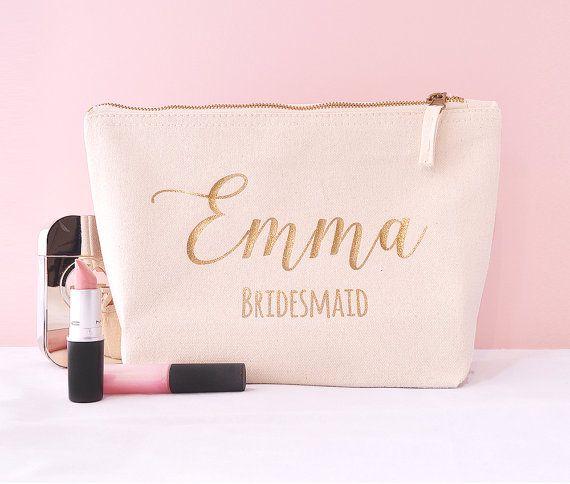 sameister7 custom order  13 Ivory Make Up Bags by HanmadeDesignsUK