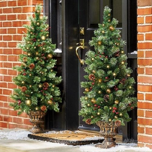 Pre Decorated Christmas Tree | eBay