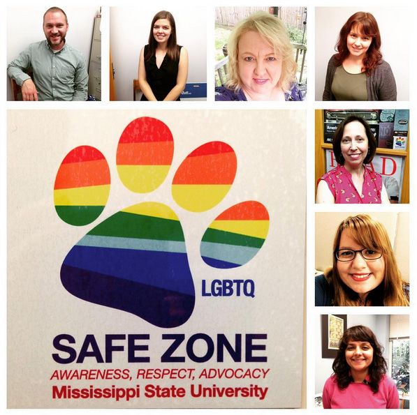 Did you know the library is full of faculty and staff who are Safe Zone allies? We strive to make the library a safe space for everyone!  #LGBTQ