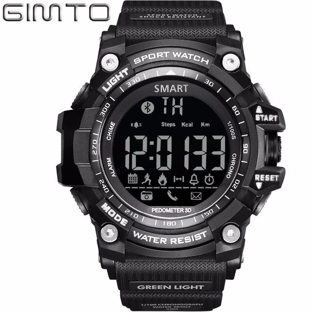 Special price GIMTO Brand Men Smart Watches Compatible Android & Apple Iphone SangSung Smart Wear Device for Women Men Sport Watch Outdoor just only $19.80 with free shipping worldwide  #menwatches Plese click on picture to see our special price for you