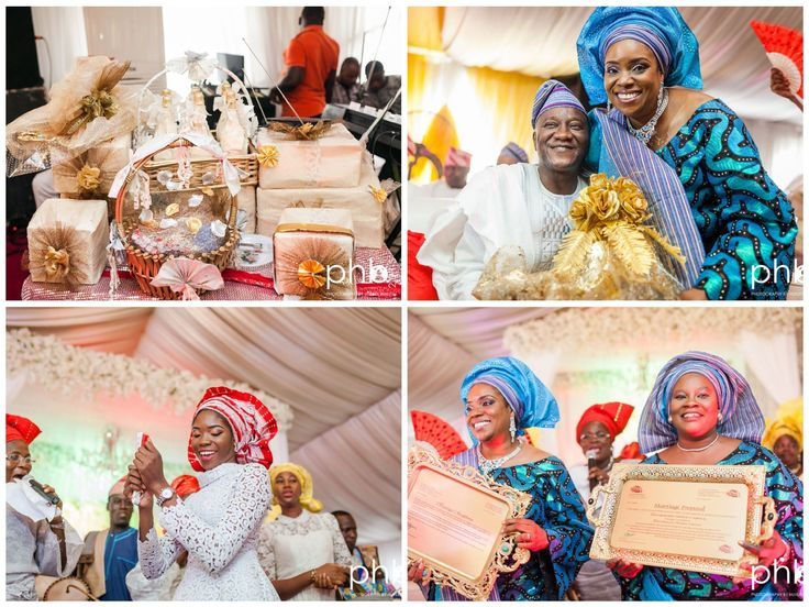 Nigerian Wedding Presents A Guide To Traditional Weddings: What Happens At A Yoruba Traditional Wedding Ceremony - Nigerian Wedding