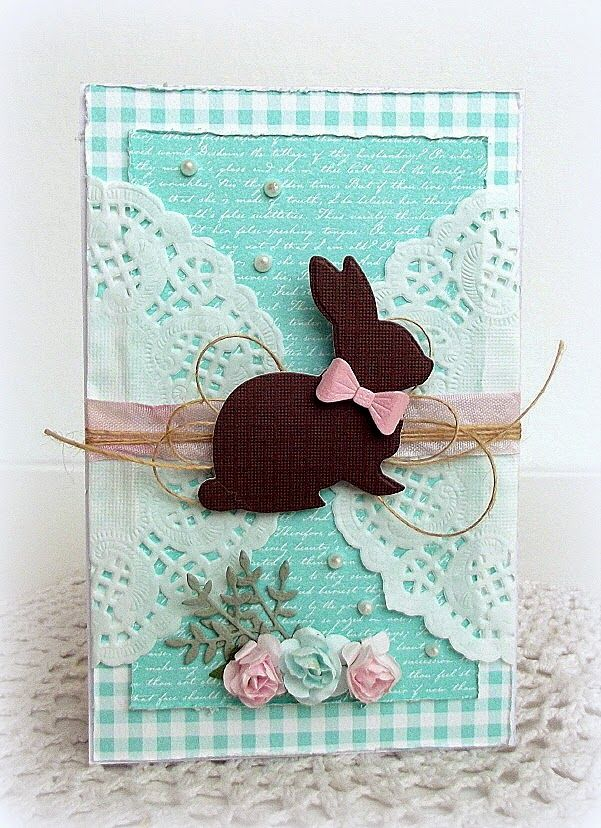 Love this card created by Melissa for the Simon Says Stamp Wednesday challenge (Spring Pinterest Inspiration)