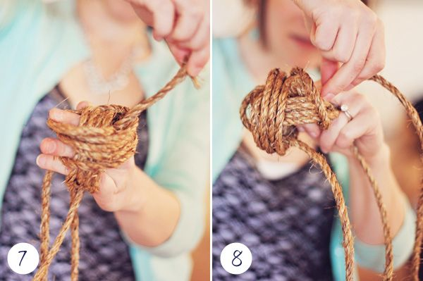 How to tie a Nautical Knot - Annapolis Wedding Blog for the Maryland Bride