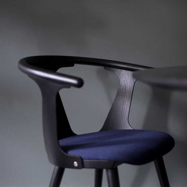 In Between Chair SK2 in black stained ash by Sami Kallio for &Tradition