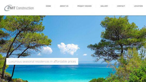 κατασκευή ιστοσελίδων Θεσσαλονίκη Seasonal Residences Chalkidiki