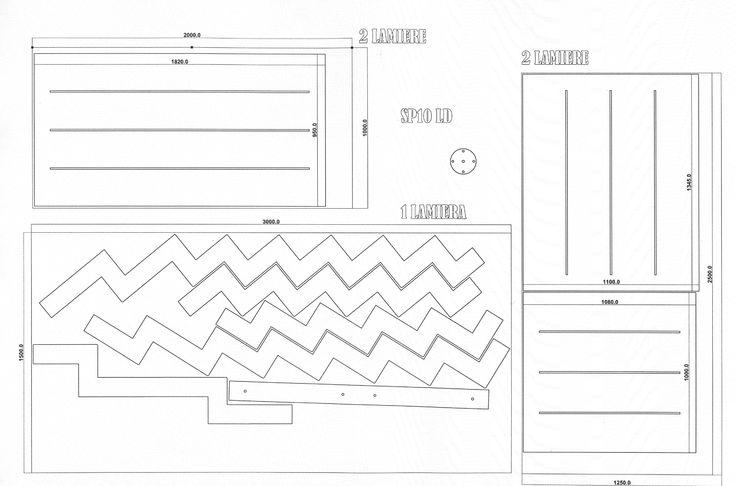 ... Pinterest  Disegno scala, Architettura di interni e Scale metalliche