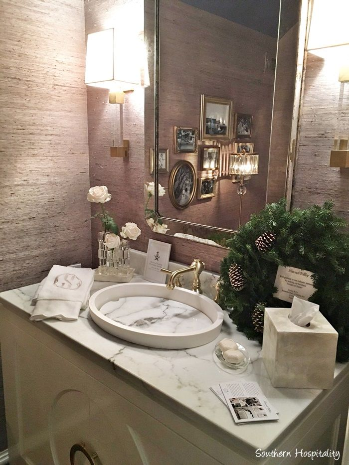 2378 best merry christmas images on pinterest for Hall bathroom ideas