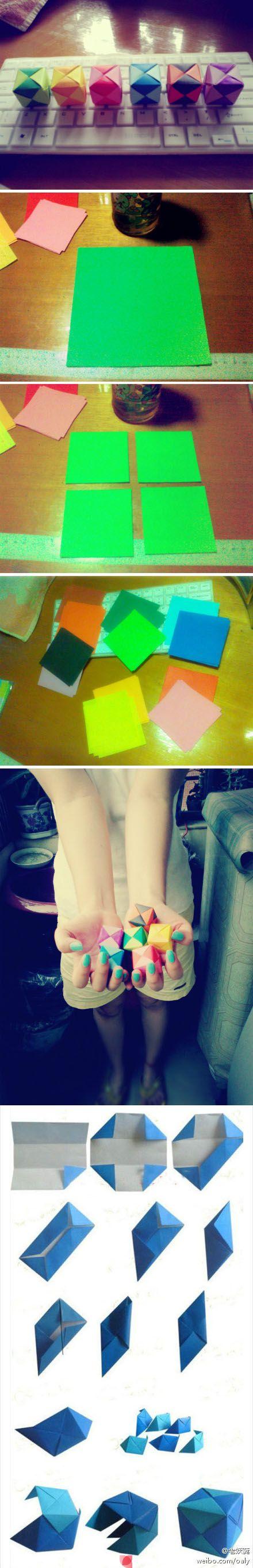 Color cube / Cubo de colores