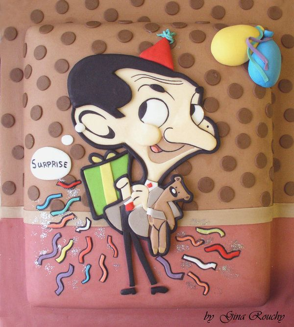 Mr Bean Cake by *ginas-cakes on deviantART