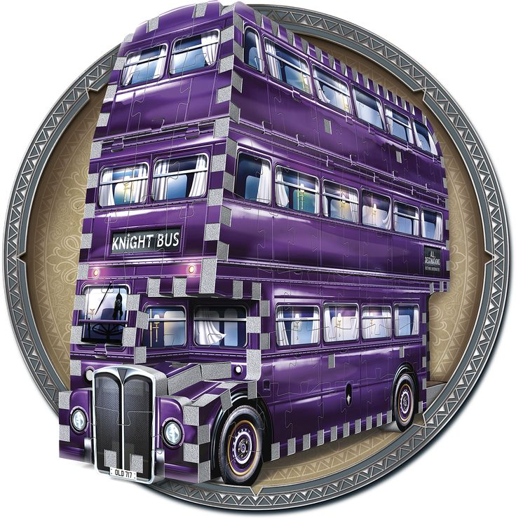 If you're a stranded wizard in need for an urgent, safe and discreet form of transportation, simply stick out your wand arm close to the curb and The Knight Bus will appear. Once on board, this purple triple-decker bus will squeeze through small spaces and travel quicker than a regular bus to make sure you reach your destination in time. But one question remains; how fast can you build this 280-piece Harry Potter™ 3D puzzle?