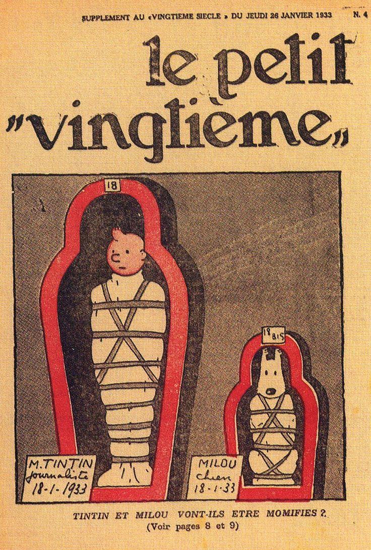 Tintin et Milou vont-ils être momifiés ? - Les cigares du pharaon