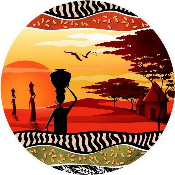 системы круглые картинки африка возможность сделать поделку