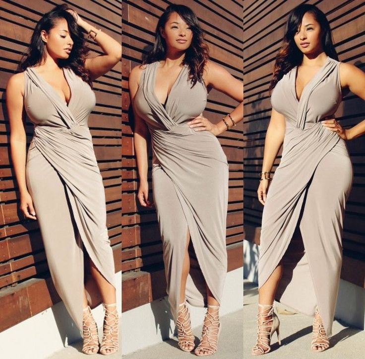 Plus Size Sexy Womens Sleeveless Maxi Cocktail Club Evening Party Dress Bodycon in Clothing, Shoes & Accessories, Women's Clothing, Dresses | eBay