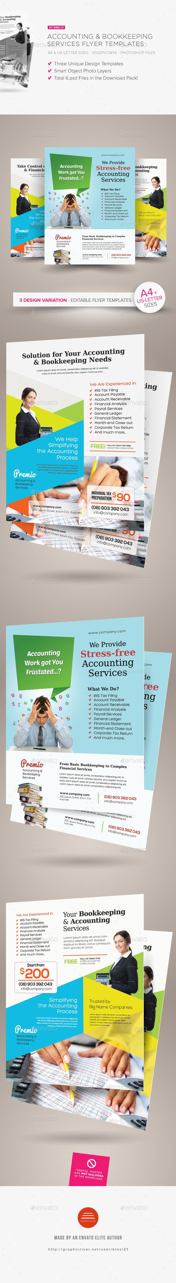 40 best print templates images on pinterest print templates accounting and bookkeeping services flyers fandeluxe Image collections