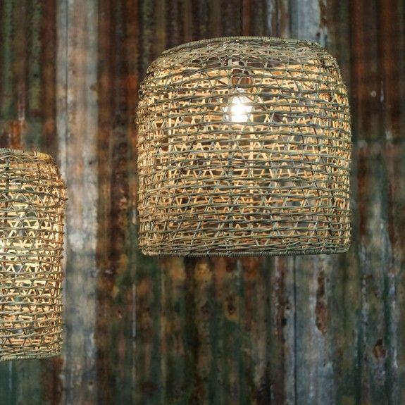 78 best caribbean lighting images on pinterest backyard lighting rattan lamp shade aloadofball Gallery