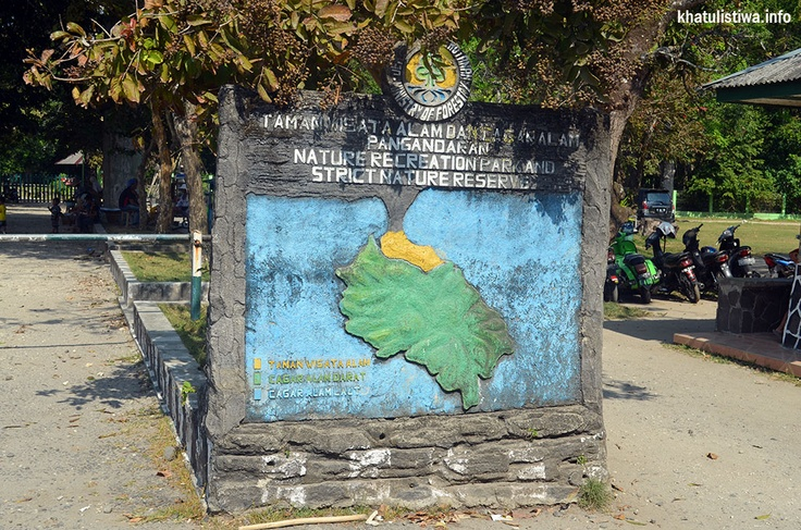 Taman Wisata dan Cagar Alam Penanjung Pangandaran, wilayah konservasi yg berada di daerah #karst dan #pantai