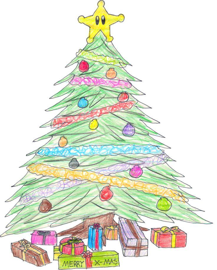 Christmas Tree by shinybulblax on DeviantArt